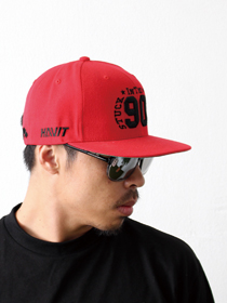 [HVC_013_1] 90'S SNAP BACK_RED