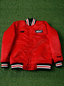 [HVO_002] WAR & VICTORY STADIUM JACKET (RED)